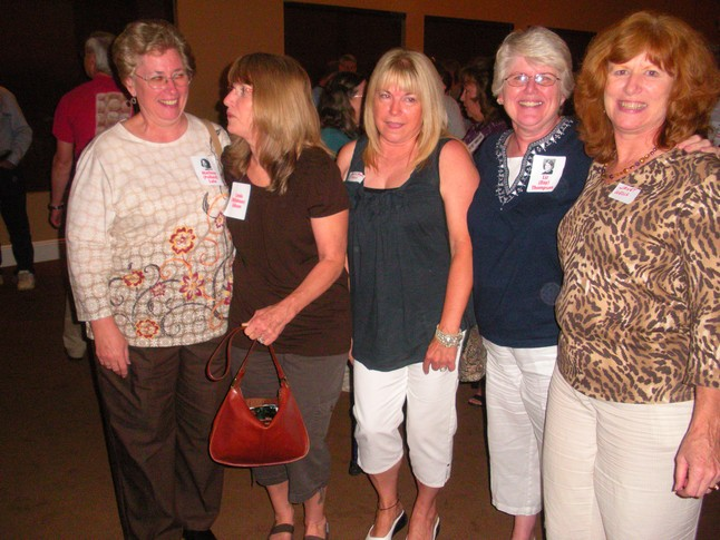 Marlene Pollard, Linda Wildman, Roberta Ruyan, Liz Day, Janet Wells - we lived on Broadway or Lincoln Street growing up