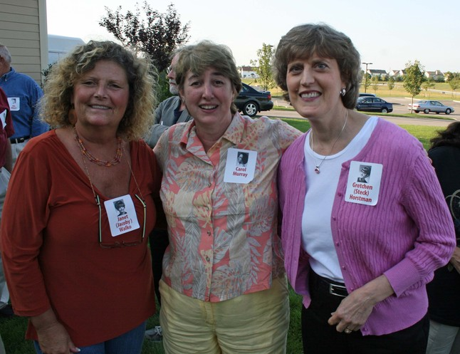 Janet Jacoby, Carol Murray and Gretchen Steck